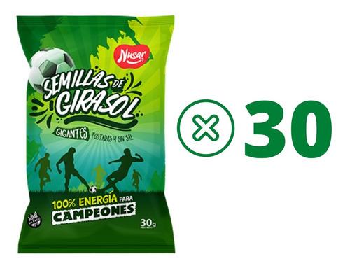 Combo Semillas De Girasol S Sal Snack 30 Packs Bulto Cerrado