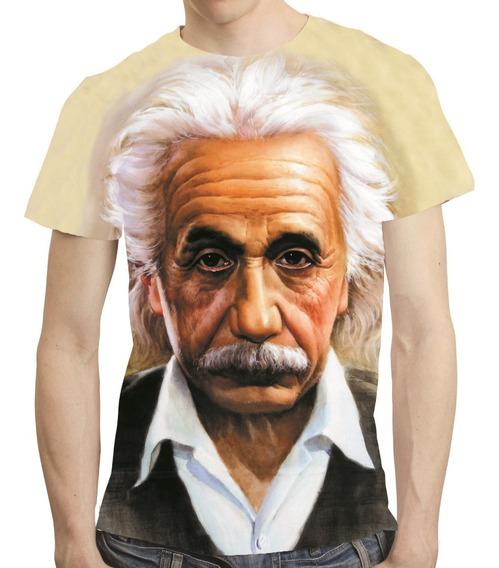 Camisa Camiseta Albert Einstein - Estampa Total 02