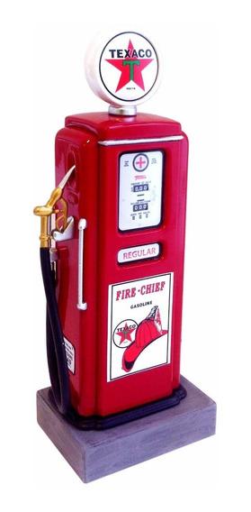 Miniatura Texaco Fuel Pump Bomba De Gasolina Diorama 1/18