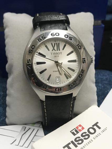 Relógio Nível Omega Tissot Original Com Caixa E Certificado