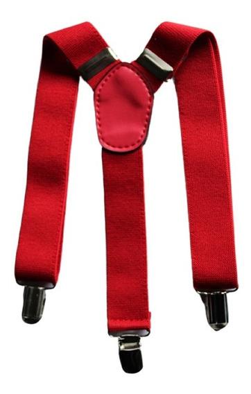 Tirantes Suspenders Para Niño Ajustables Varios Colores