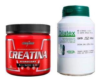 Kit Creatina 300g Integralmedica + Dilatex 152 Caps