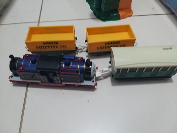 Thomas Trackmaster Mihgt Mac Super Raro ! Vem Com Vagões!