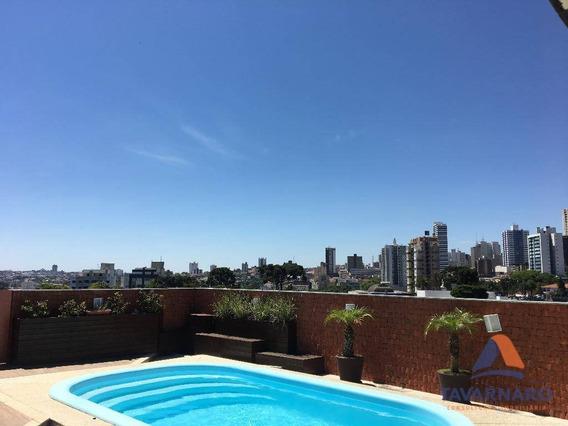 Cobertura Duplex À Venda, 506 M² Por R$ 1.500.000 - Estrela - Ponta Grossa/pr - Ap1228