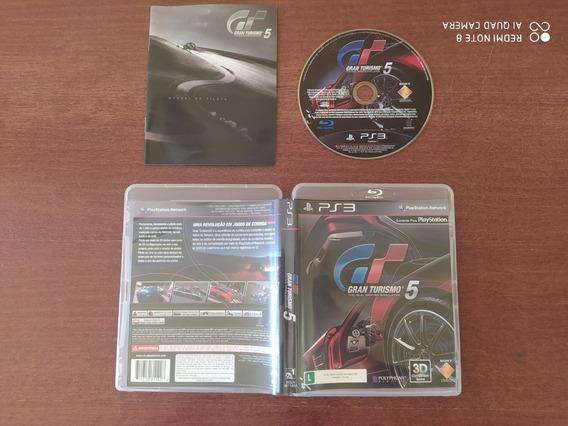 Gran Turismo 5 - Ps3 - Mídia Física - Usado