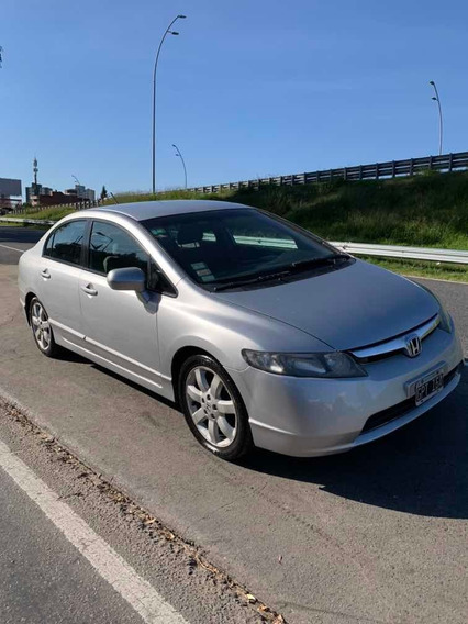 Honda Civic 1.8 Lxs At 2007 General Paz Automotores