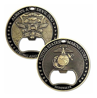 Desafío Militar Del Cuerpo De Marines De Los Ee. Uu. Moneda