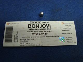 Bon Jovi Estadio Velez Sabado 16 De Septiembre 2017