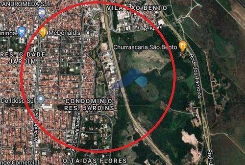 Imagem 1 de 1 de Terreno À Venda, 1000 M² Por R$ 1.600.000,00 - Jardim Satélite - São José Dos Campos/sp - Te0794