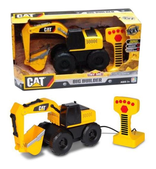 Cat Maquinas Grandes Vehiculos Sonido Control Remoto Intek