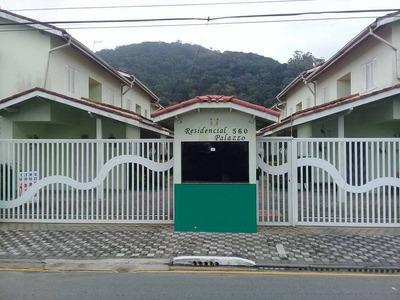 Sobrado Em Condominio Fechado Para Locação Em Mongaguá