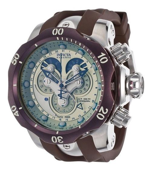 Reloj Invicta 14461 Hombre Venom Analógico Swiss Quartz Cafe