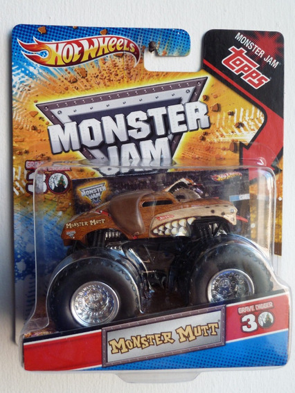 Auto A Escala 1/64 - Hot Wheels - Monster Jam