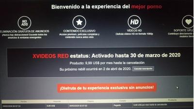 Suscripción Xvideos Red