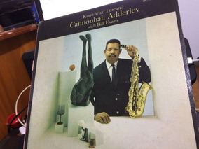 Lp Cannonball Adderley With Bill Evans - Know What I Mean?
