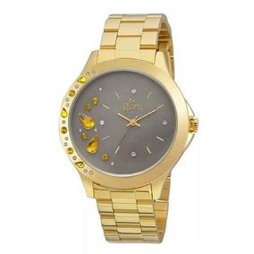 Relógio Allora Feminino Analógico Dourado - Al2036fgm/4c
