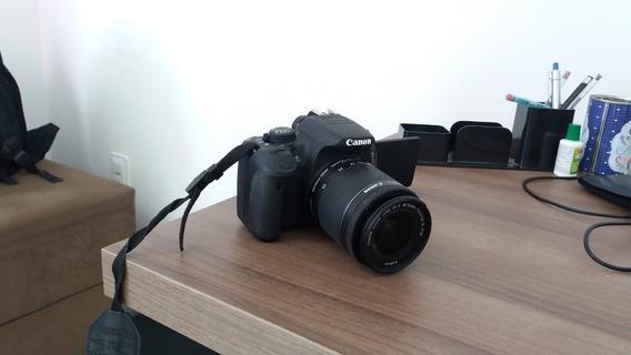 Canon Rebel T5i Com Pouco Uso + Acessórios
