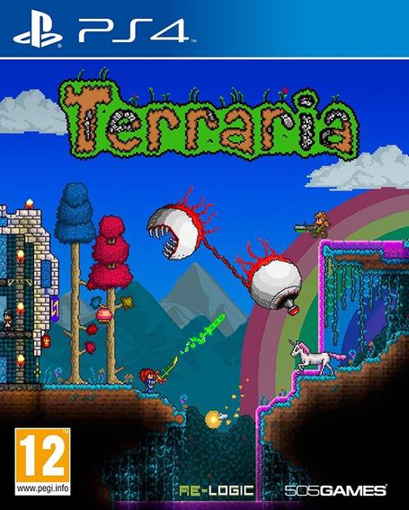 Jogo Terraria (novo) Ps4