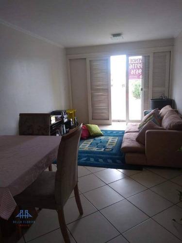 Imagem 1 de 15 de Apartamento Com 3 Dormitórios À Venda, 88 M² Por R$ 269.000,00 - Coqueiros - Florianópolis/sc - Ap2593