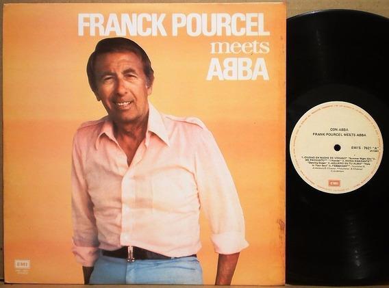 Frank Pourcel Meets Abba 1981 Venezuela Lp Instrumental