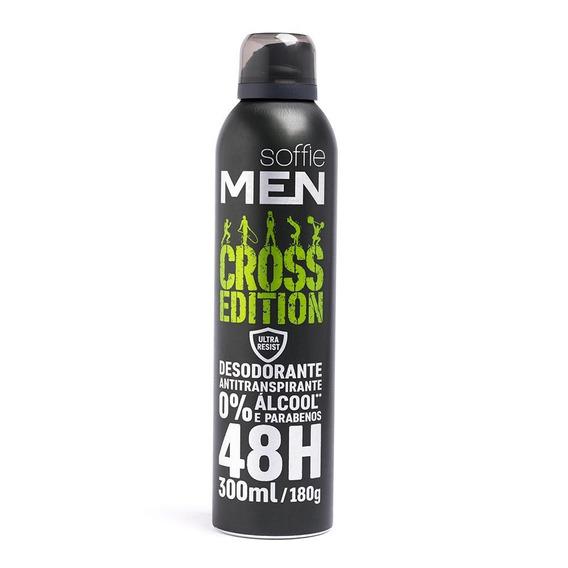 Desodorante Antitranspirante Soffie Men Cross