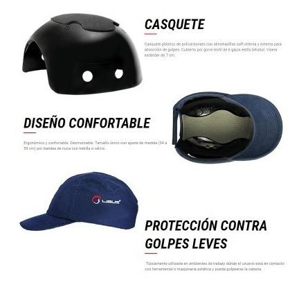 Boné De Proteção Tipo Casquete Azul