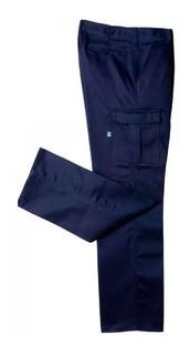 Pantalon Cargo Ombu Uso Intensivo 6 Bolsillos Para Trabajo Original