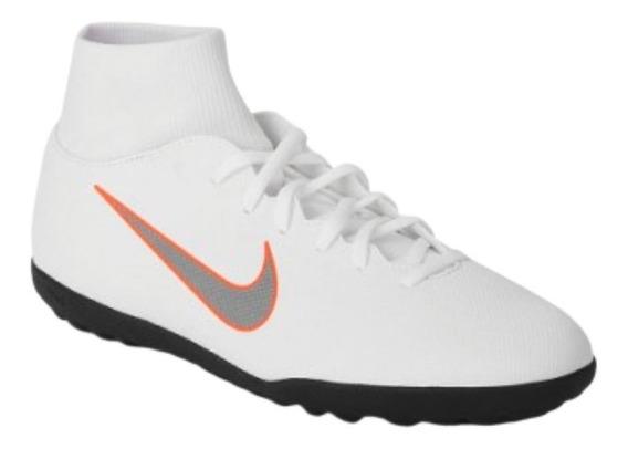 Chuteira Tenis Nike Superflyx 6 Club Tf Ah7372 Society Suiço