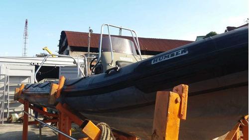 Barco Inflável Humber Destroyer 6.5m Rib (não Flexboat)