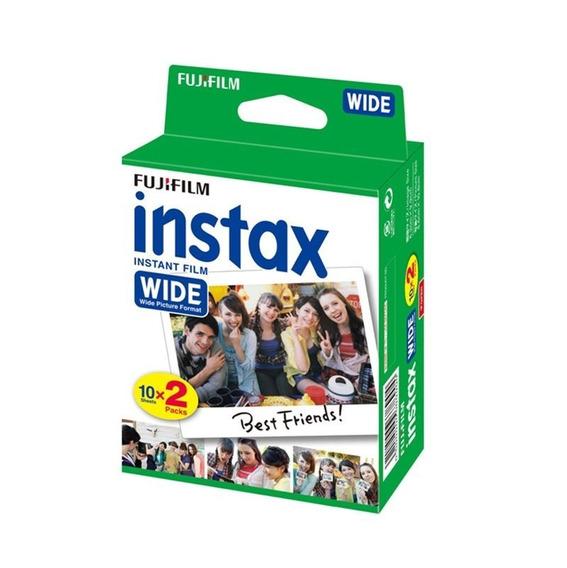 Filme Instax Wide Pack Com 20 Fotos Instantâneas