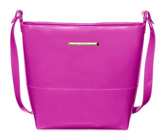 Bolsa Linda Média Básica Petite Jolie Easy Pj6015 Cor Pink