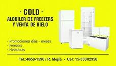 Alquiler De Freezers, Heladeras, Heladeras Exhibidoras.