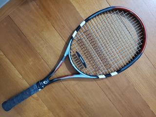 Raquete De Tênis Babolat Classic Ti Comp Com Bolsa E Grip