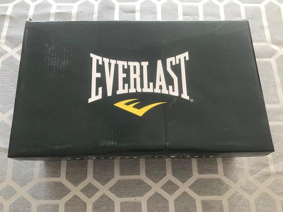 Tenis Everlast Negros/rojo/blanco 1505-9, Numero 9 Mexicano