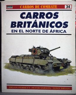 Tanques Carros De Combate Británicos En Norafrica