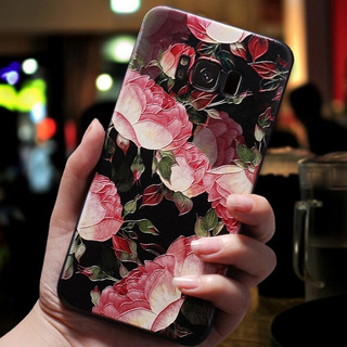 Shanhua - A9 2018 - Capa De Flores De Relevo 3d Para Samsung