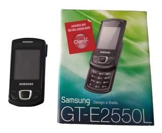 Samsung Gt-e2550l Aparelho Celular