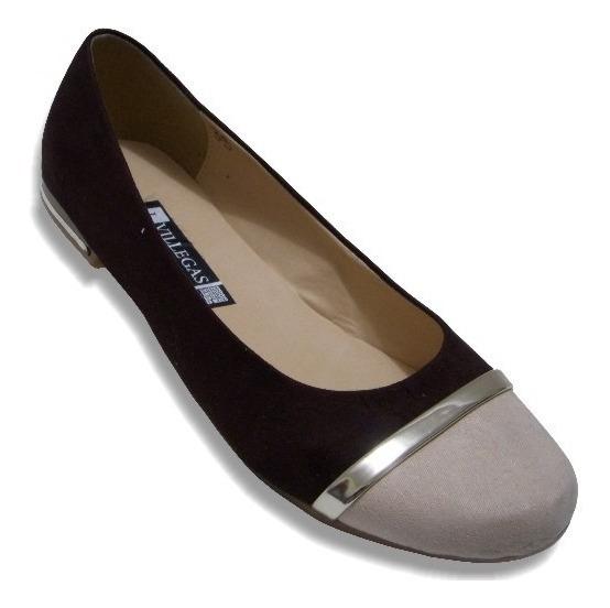Zapato Doble Punta Combinado Combinable Durable Para Mujer