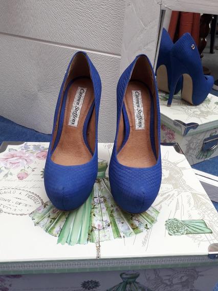 Zapatos Carmen Steffens Azul T35/36