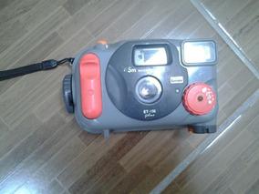 Máquina Fotográfica Subaquática Prova D Água Et 100 Plus 45m