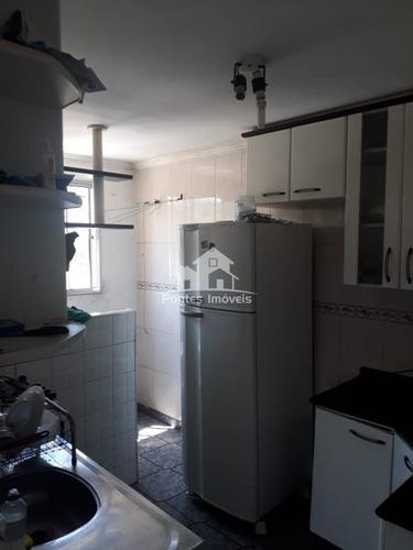 Imagem 1 de 11 de Apartamento 48m² 2 Dorms. No Bairro Baeta Neves-sbc-sp - Apa2169