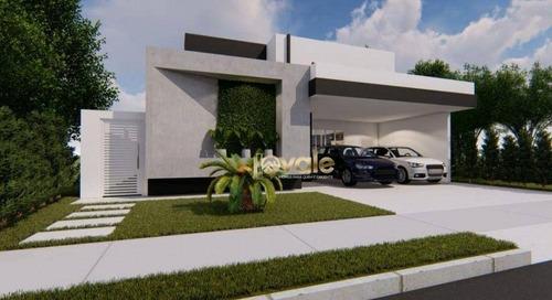 Imagem 1 de 8 de Casa Térrea Alto Padrão À Venda 148m2 Condomínio Terras Do Vale Caçapava Sp - Ca2153