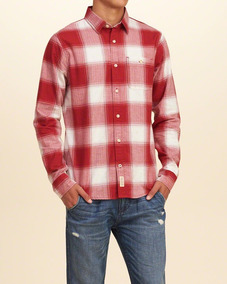 Camisa Social Casual Masculina Hollister Casacos Abercrombie
