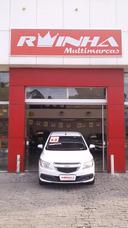 Chevrolet Onix 2014 Branco Completo+mylink