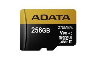Memoria Micro Sd Adata Uhs-ii 256gb Entusiastas V90, U3, 8k