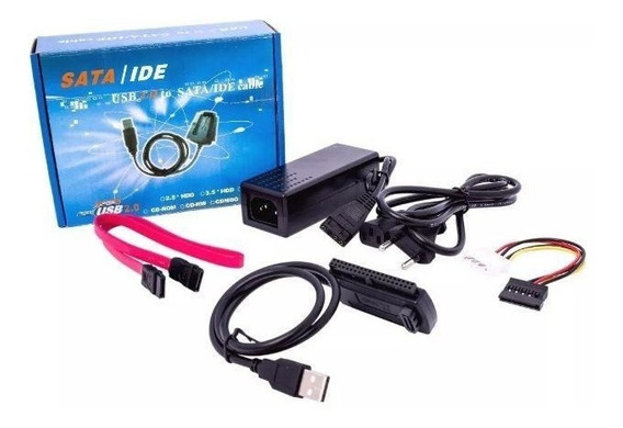 Adaptador Ide / Sata Disco Duro Pc Laptop A Cable Usb 2.0