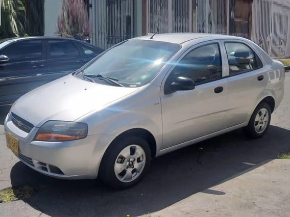 Chevrolet Aveo Ls 1.6 Mecánico Sedán Aa