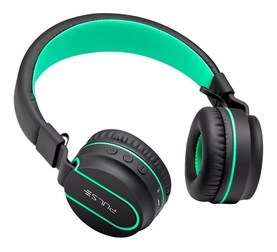 Headphone Verde Pulse Bluetooth Entrada P2 Fone - Ph215