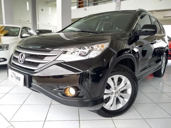 Honda Cr-v 2.0 Exl 4x4 16v 2014 Preta Flex