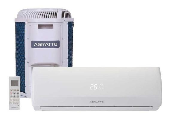 Ar Condicionado Split On/off Agratto Fit 12000 Btus 220v Qf